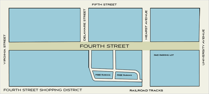 Fourth Street Map